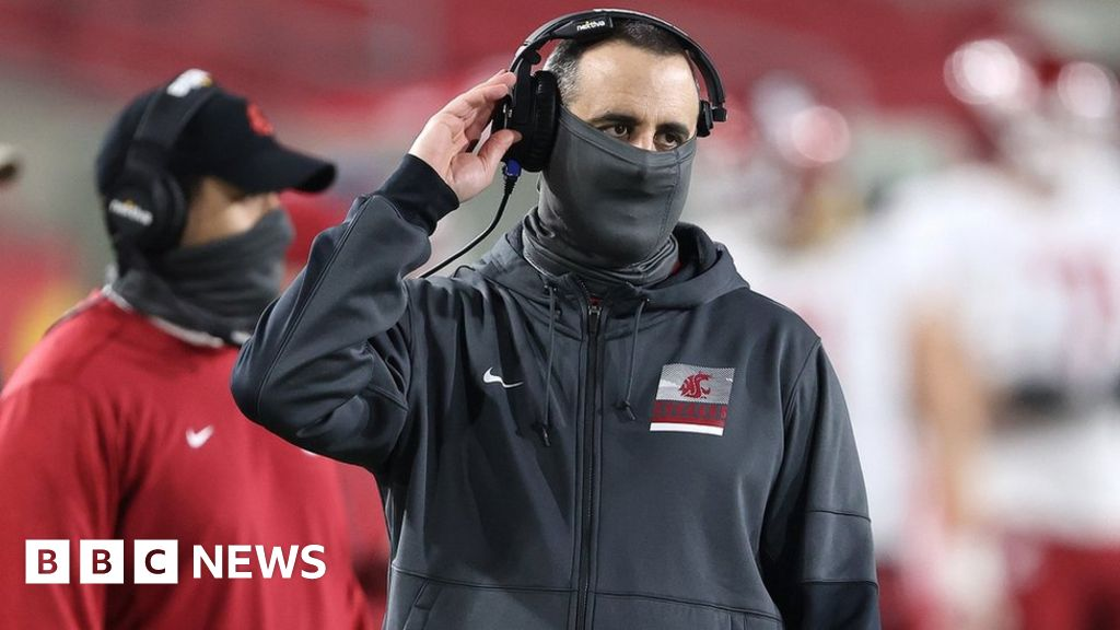 Nick Rolovich: Washington State football coach fired for refusing Covid vaccine