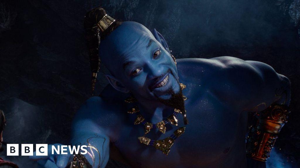 Disney fans mock Will Smith's Genie in Aladdin