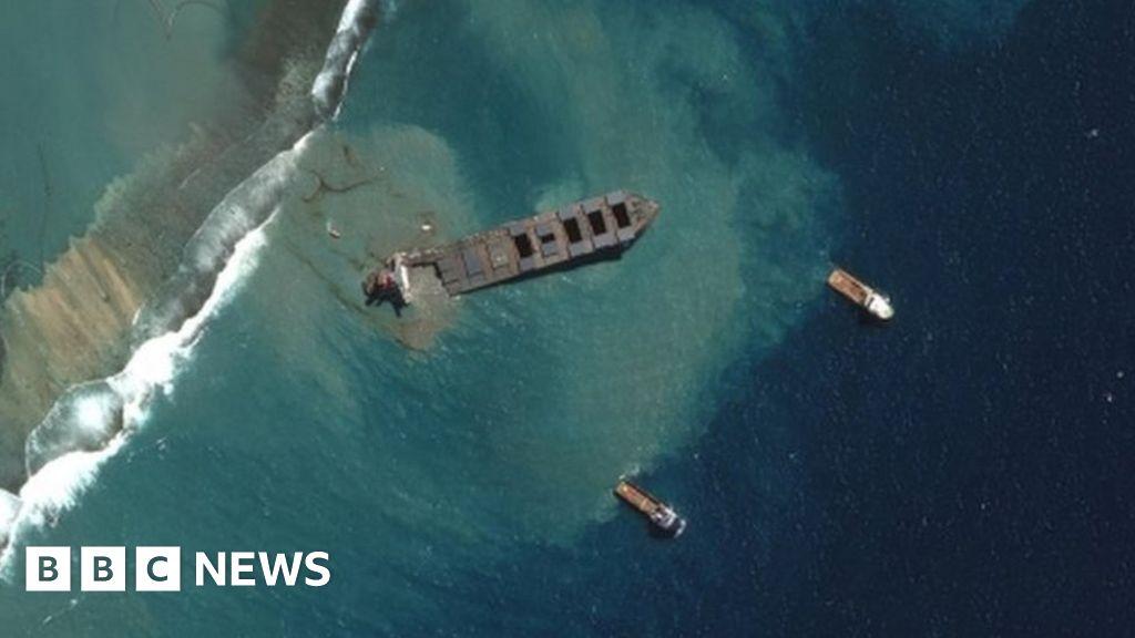 Mauritius Oil Spill: Captain Of MV Wakashio Arrested