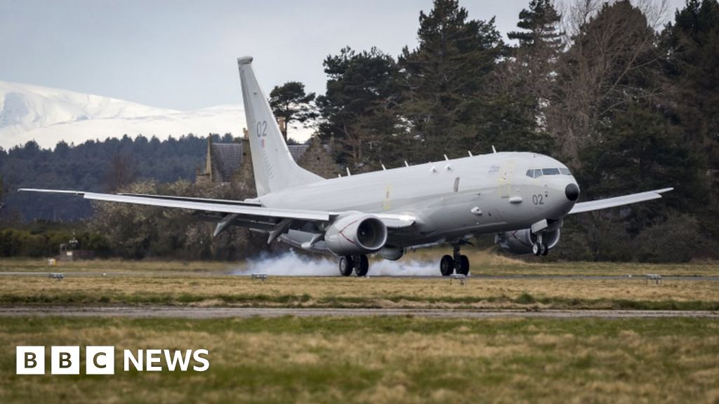 RAF plane sent from Moray to monitor migrant boats