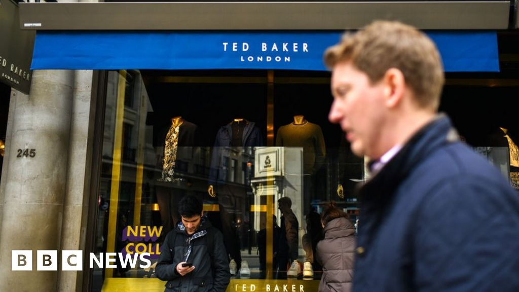 Ted Baker bosses resign as firm issues profit warning