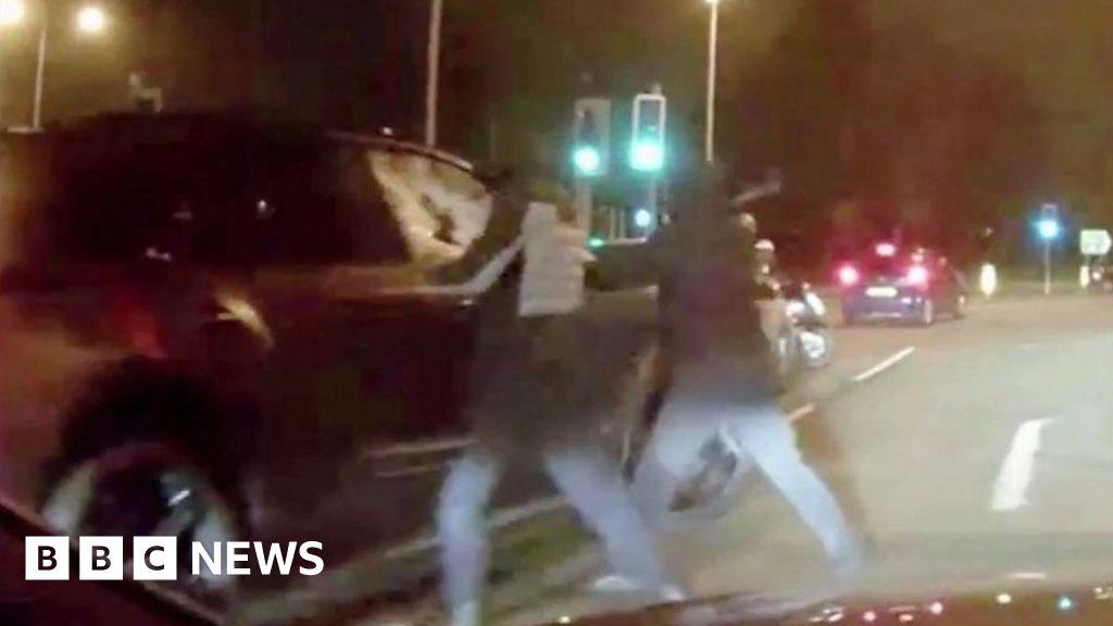 Masked Men Attempt Horrific Carjacking