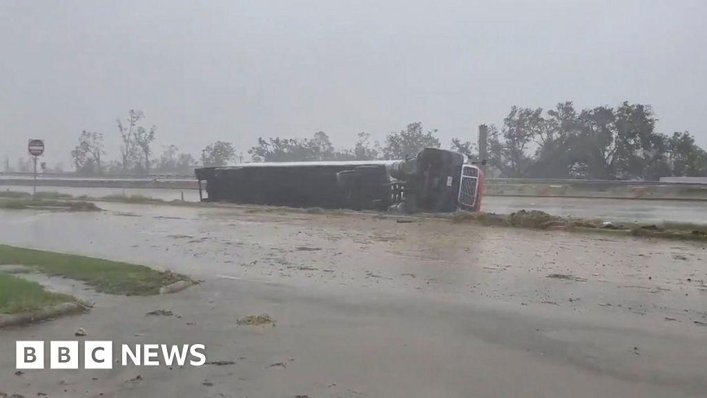 Hurricane Delta makes landfall in storm-battered Louisiana