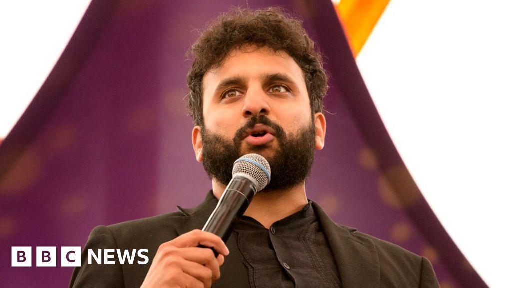 Comic Nish Kumar booed off stage at charity bash