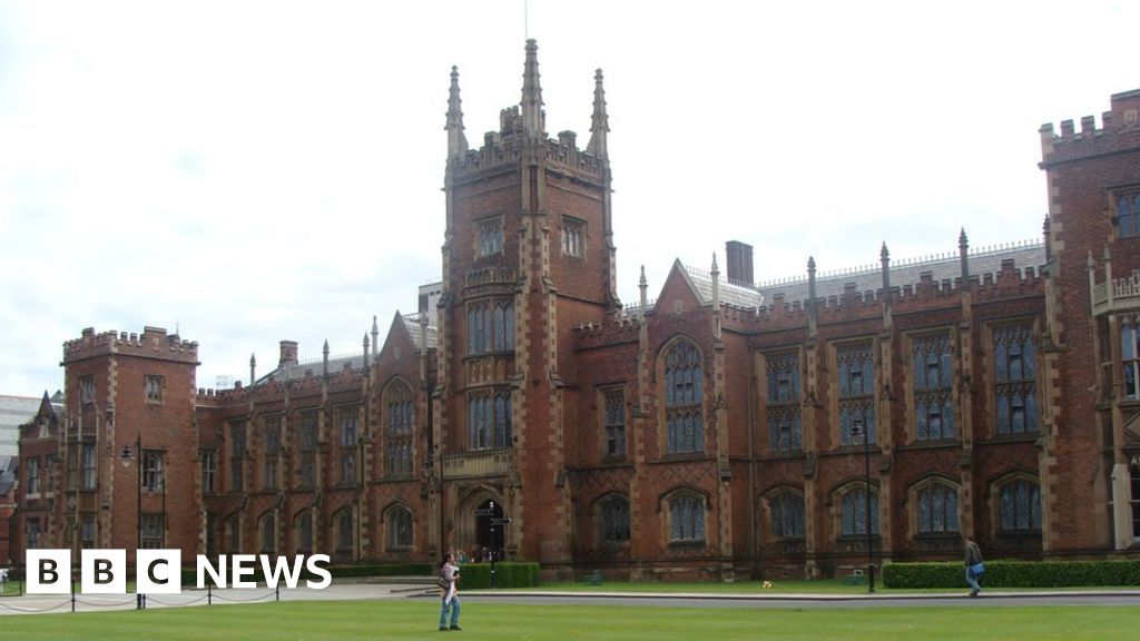 Lecturers on strike at Queen's and Ulster universities