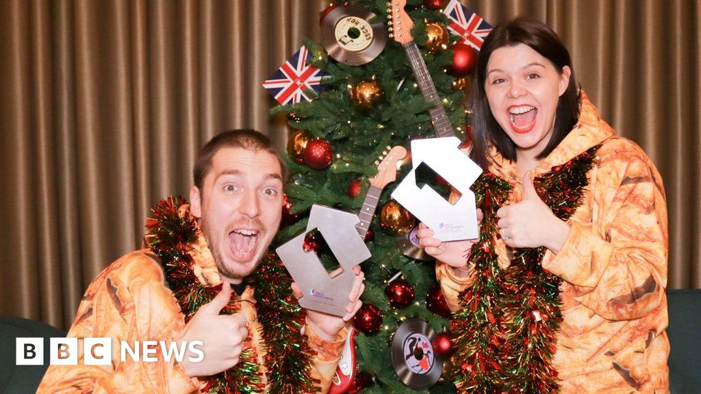 How have we done this again?  LadBaby scores second Christmas number one