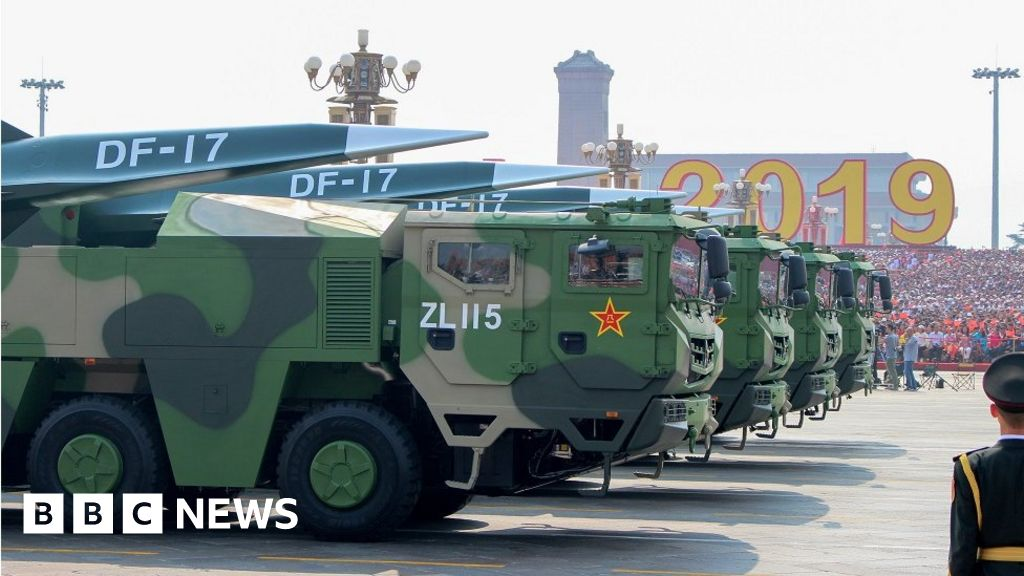 China s hypersonic test - does it signal a new arms race?