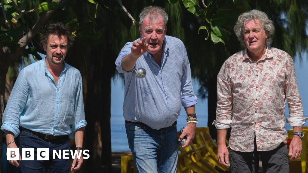 The Grand Tour stars on pirate treasure, cycle lanes and electric cars