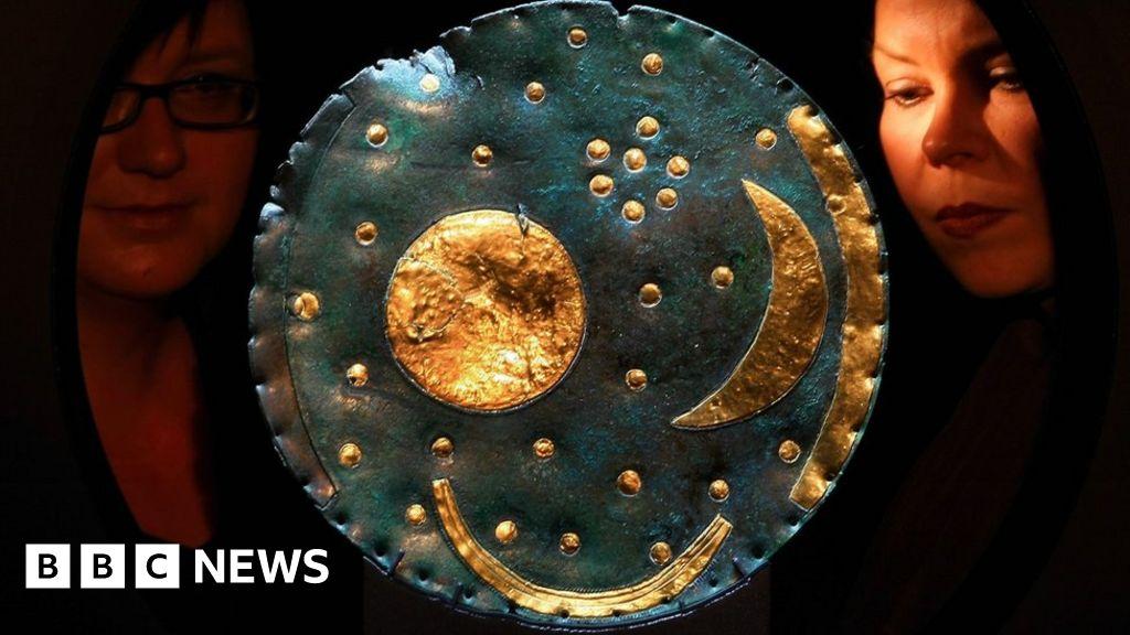 Nebra Sky Disc: British Museum to display world s  oldest map of stars