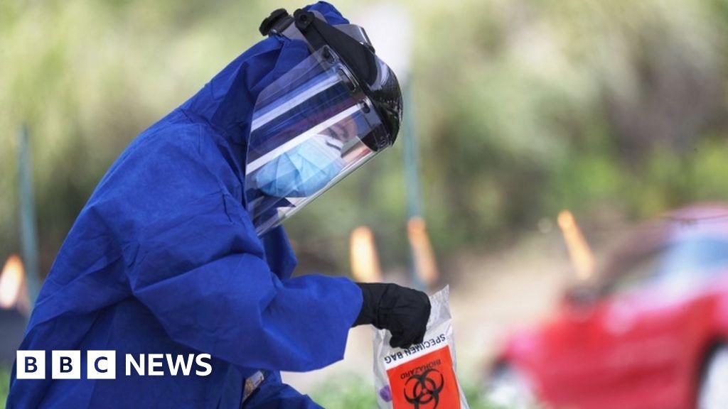 Coronavirus: US death toll overtakes Italy as world's highest