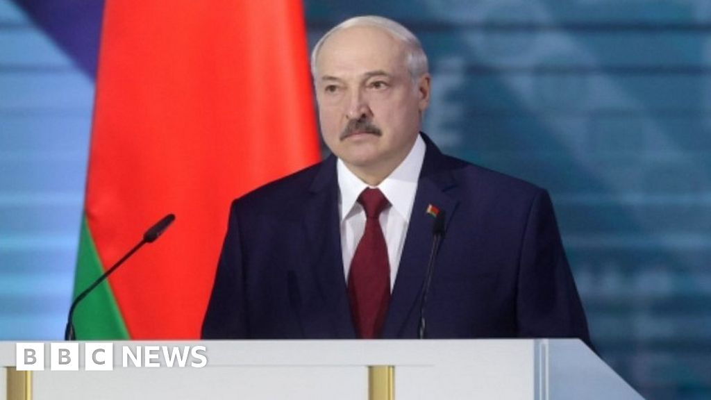 Belarus ruler Lukashenko says Russia lying over 'mercenaries' thumbnail