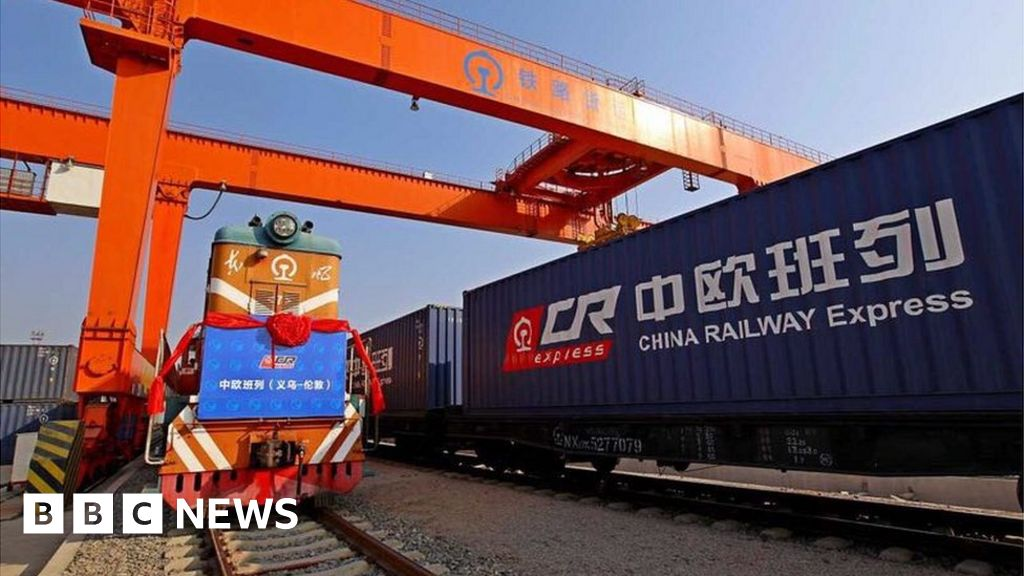 All aboard the China-to-London freight train - BBC News