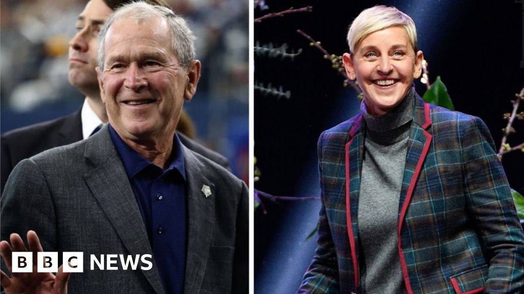 Ellen DeGeneres defends George W Bush friendship