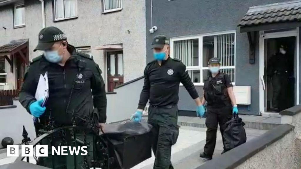 Five arrests in operation against SE Antrim UDA