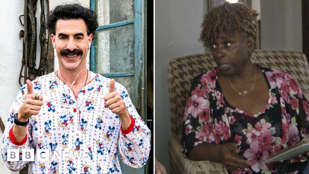 Borat's Sacha Baron Cohen 'donates $100,000 to Jeanise Jones' church'