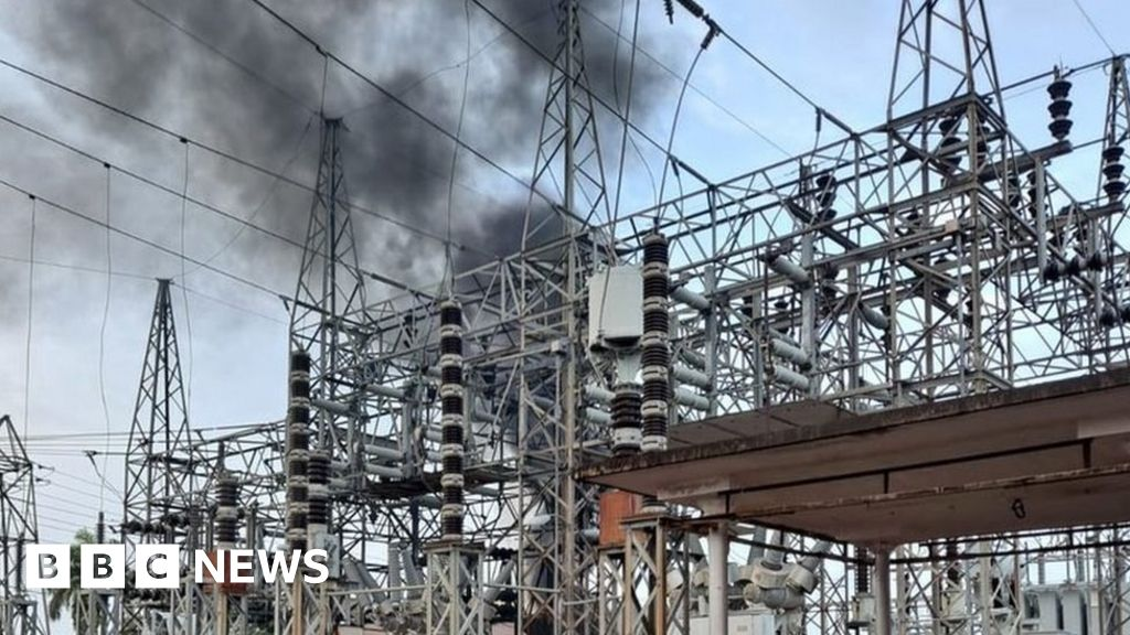Puerto Rico blackout after fire at power station