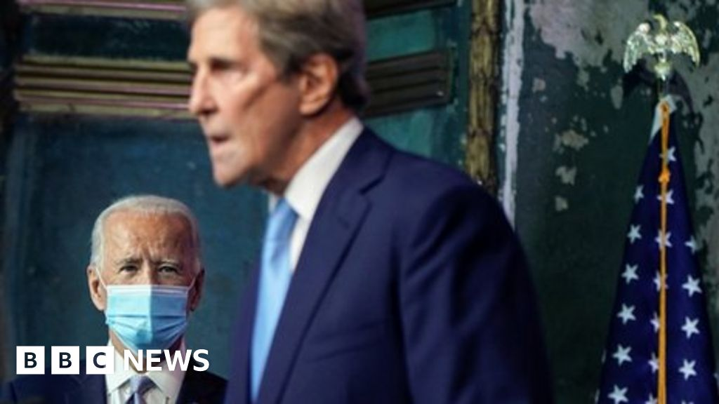 Climate change: Trump's Paris withdrawal was 'reckless' - John Kerry