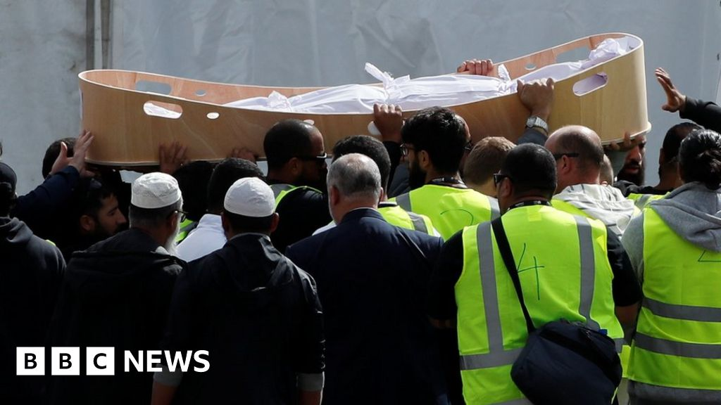 Masjid Christchurch Twitter: Christchurch Shootings: First Funerals For Victims Of