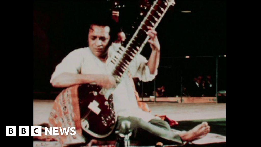 Rare Ravi Shankar footage released to mark centenary
