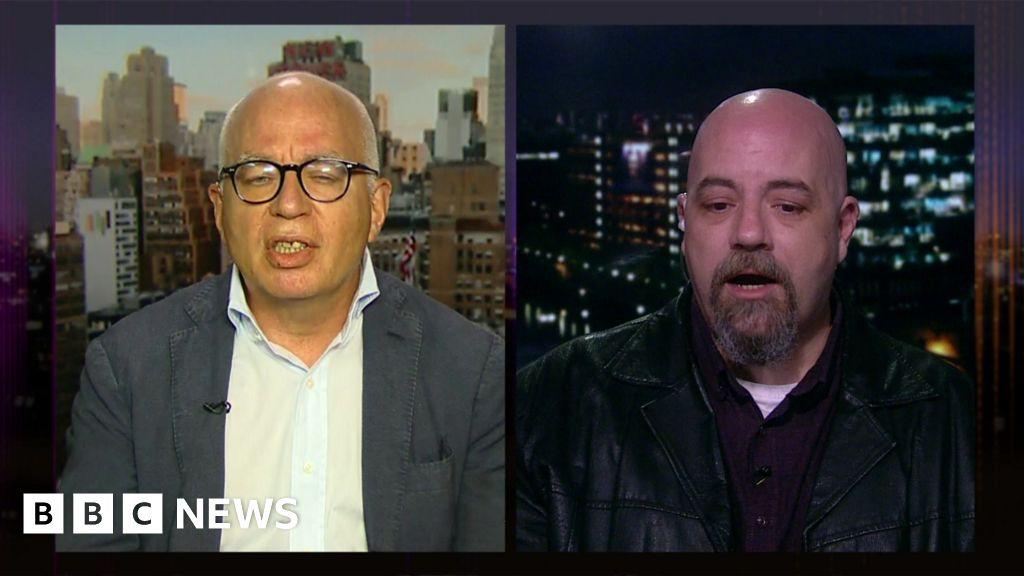 Should the footage be broadcast? Author Michael Wolff tells LiveLeak's  Hayden Hewitt on Newsnight: