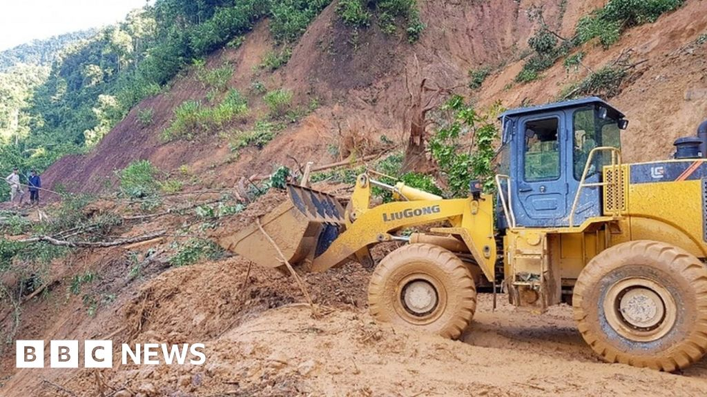 Typhoon Molave: Landslides kill at least 19 after heavy rain in Vietnam