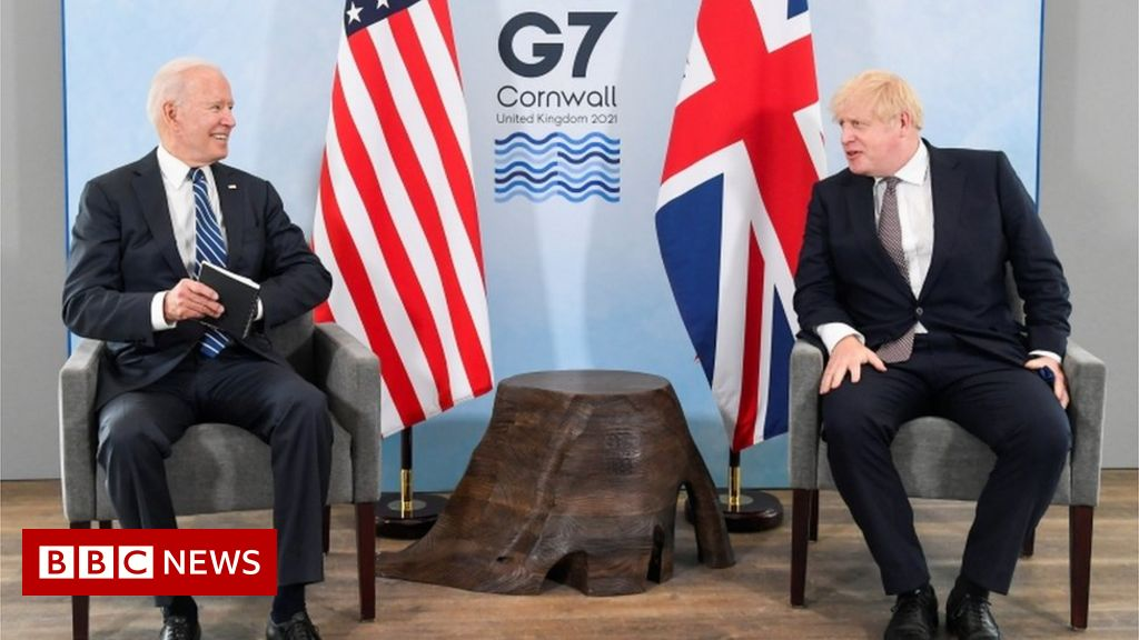 G7: The United Kingdom and the United States in complete harmony with Northern Ireland – Boris Johnson