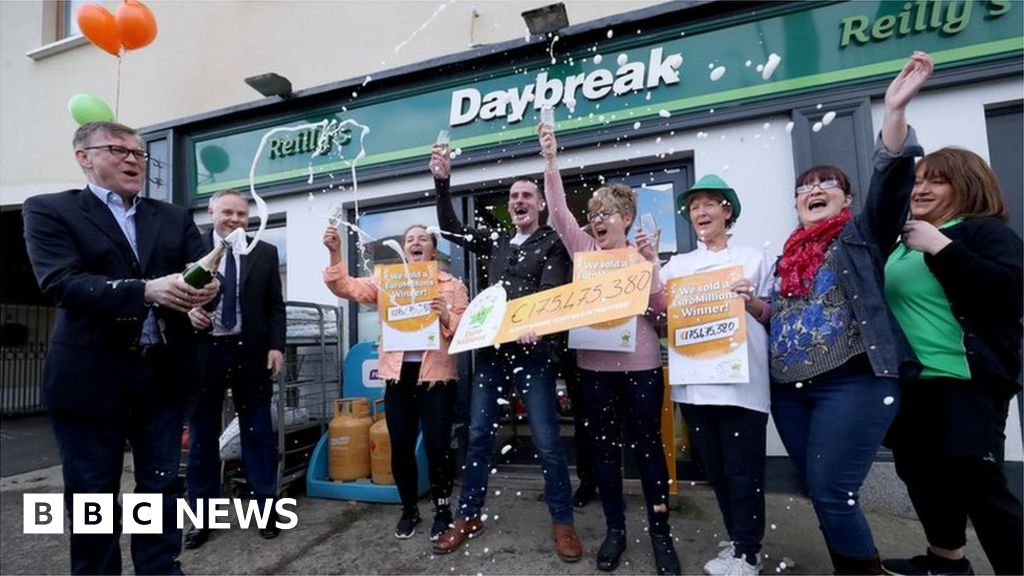 EuroMillions: Family syndicate wins 175m euros jackpot - BBC