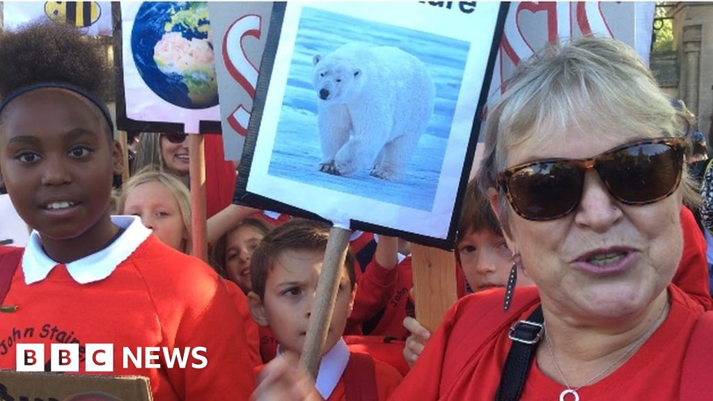 Climate protest: A different kind of class of travel