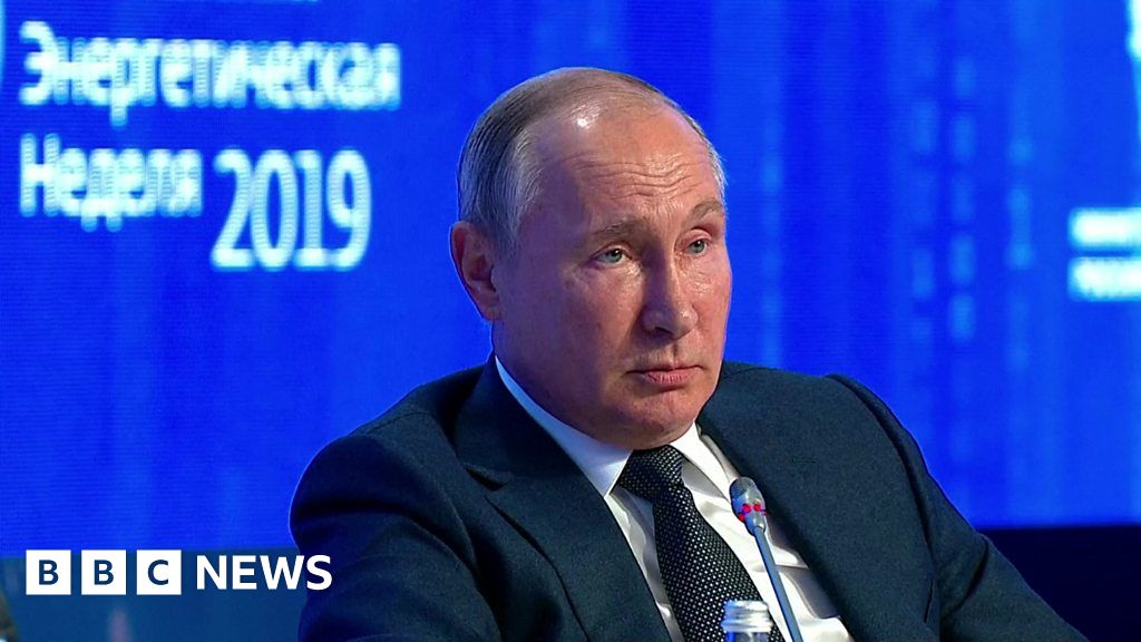 Putin on Greta: 'I don't share the enthusiasm'