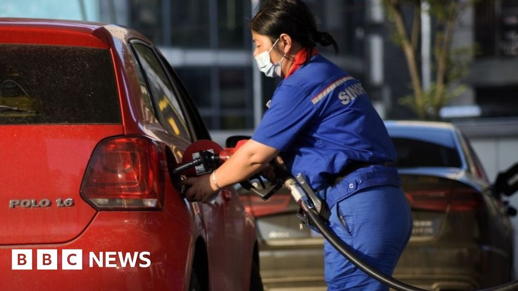 China petrol stations ration fuel due to diesel shortage