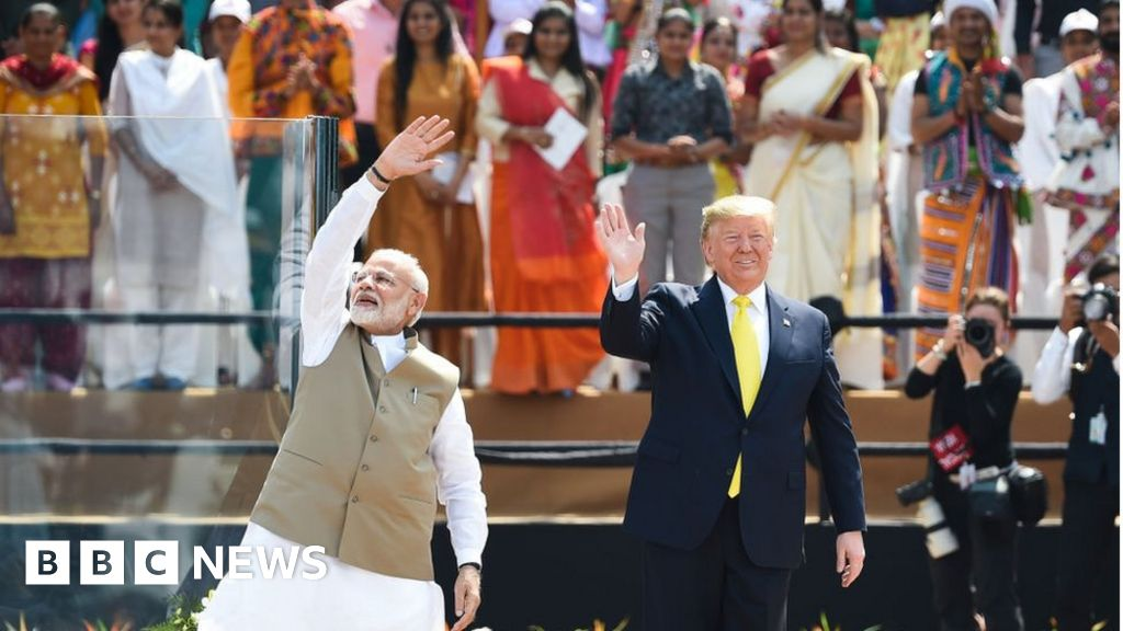 What came out of Donald Trump's visit to India?
