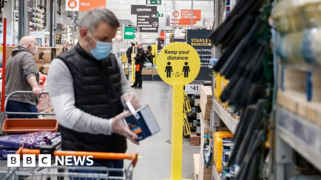 UK DIY sales soar but clothing stores fall behind