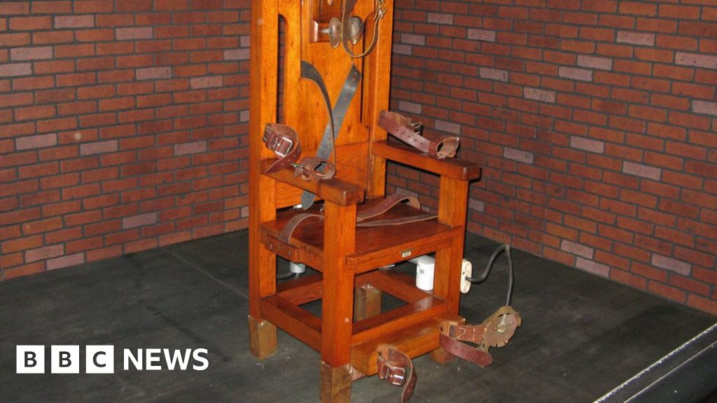 US inmate chooses electric chair death