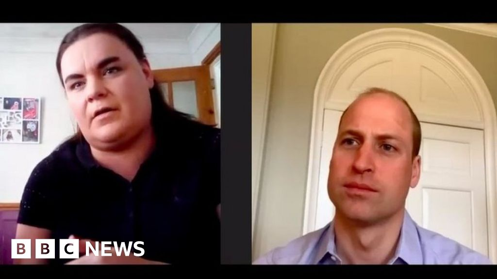 Prince William surprises shielding family with video calls