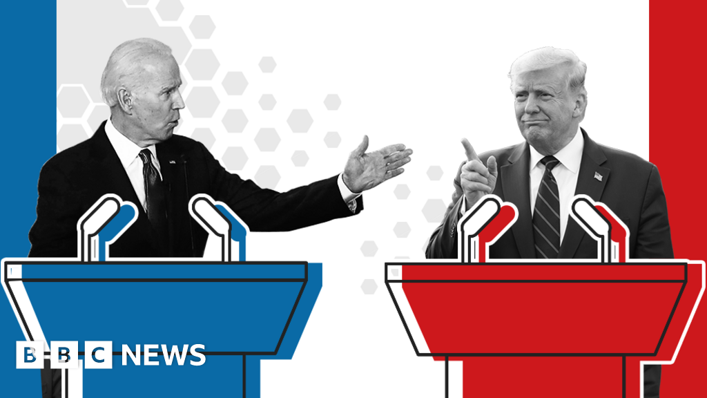 US election 2020: What time is the Trump v Biden presidential debate?