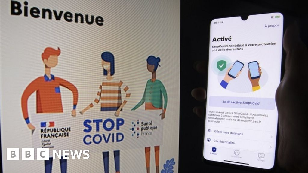 Coronavirus: France gives green light to contact-tracing app