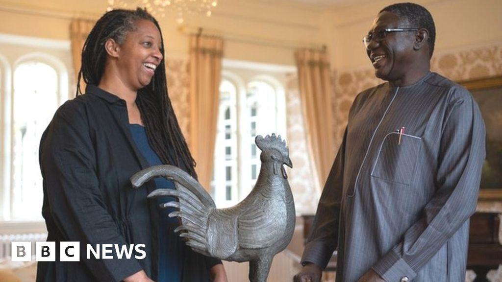 Cambridge University college hands back looted cockerel to Nigeria
