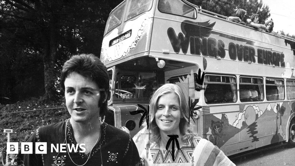 Paul McCartney's psychedelic Wings tour bus rediscovered