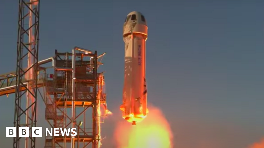 New Shepard: Jeff Bezos' rocket tests Nasa Moon landing tech