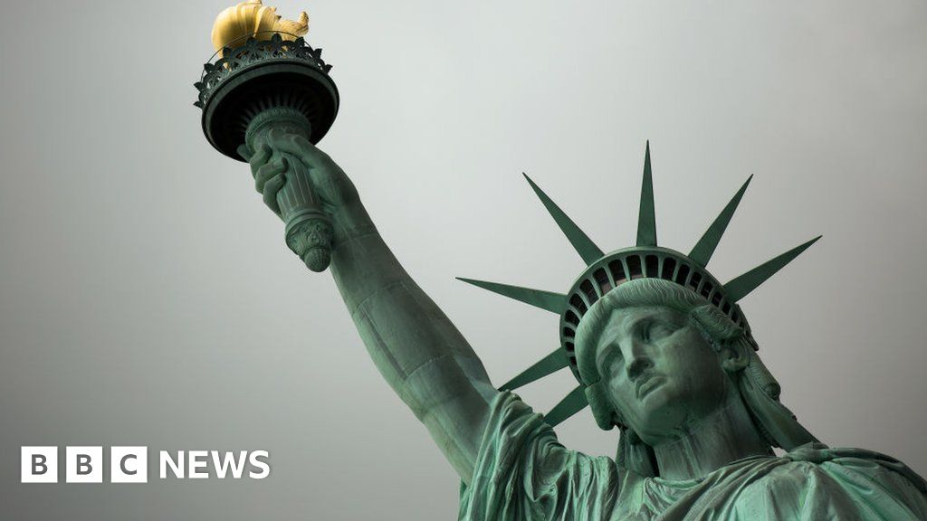 Trump official revises Statue of Liberty poem to defend migrant rule change