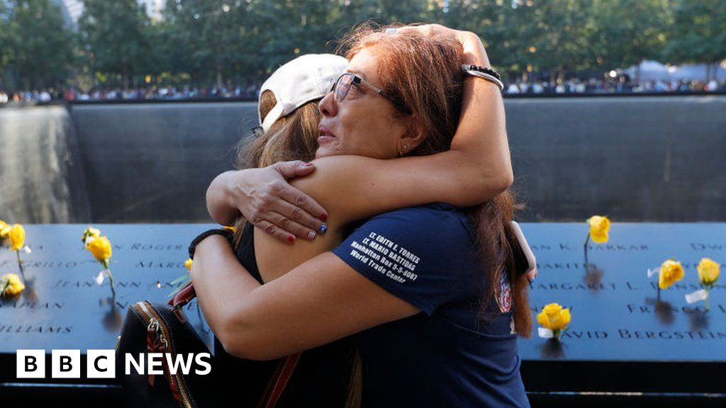 , 9/11 anniversary: Emotional tributes paid to lives lost, The World Live Breaking News Coverage & Updates IN ENGLISH