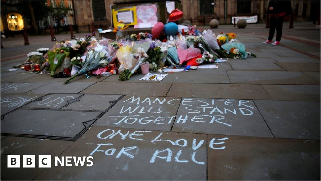 Manchester attack: Wales falls silent to remember victims - BBC News