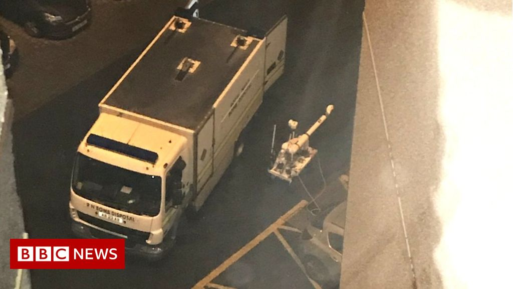 Arrest over suspicious device found near Motherwell polling station