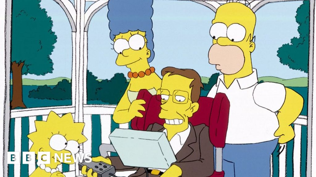 The story of Stephen Hawking and The Simpsons