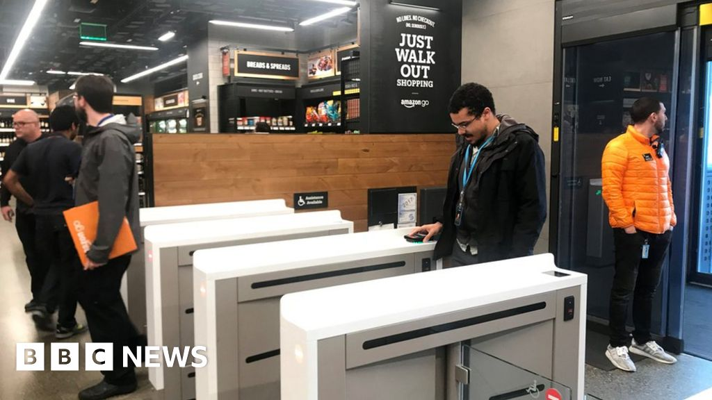 The supermarket with no checkouts