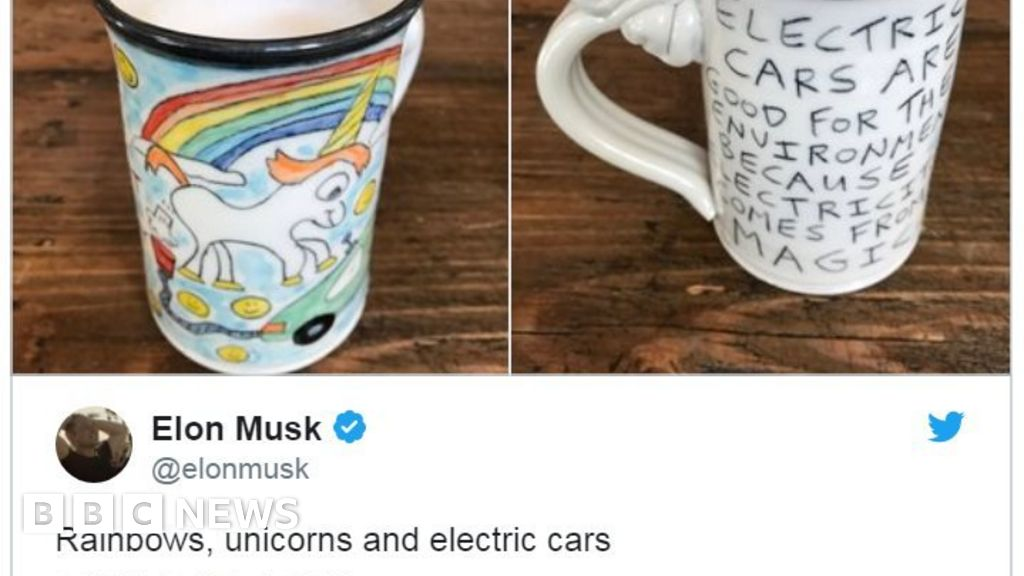 Elon Musk accused of stealing farting unicorn image