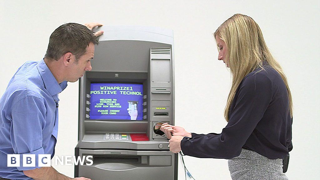 How easy is it to hack a cash machine?