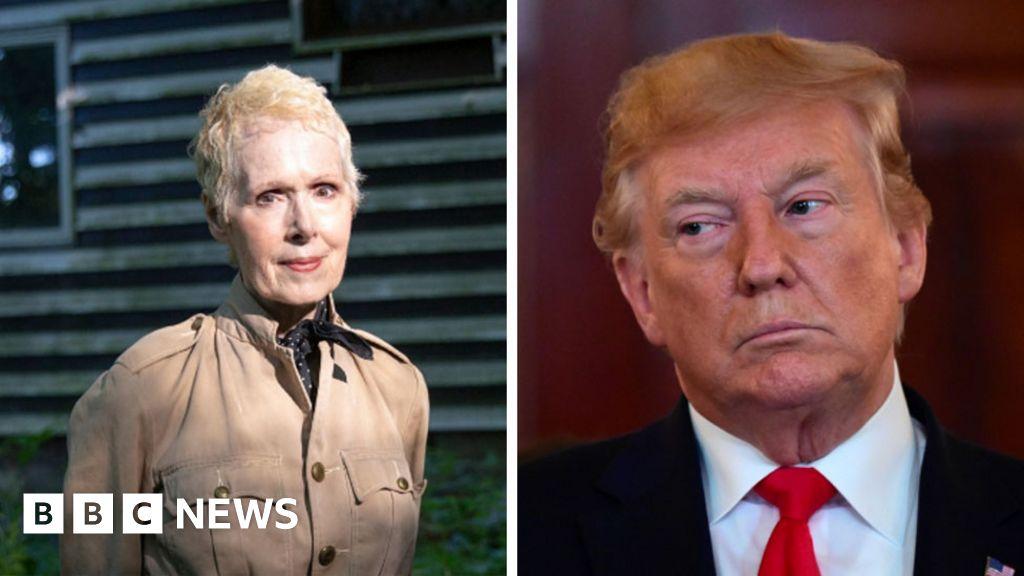 Trump says sexual assault accuser E Jean Carroll 'not my type ...