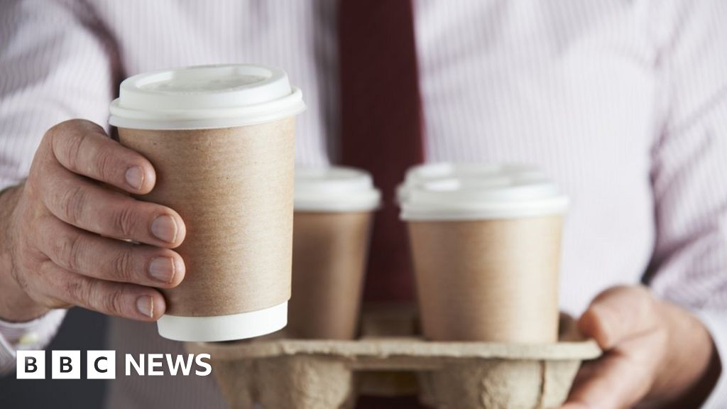 Disposable coffee cup bans 'unnecessary'
