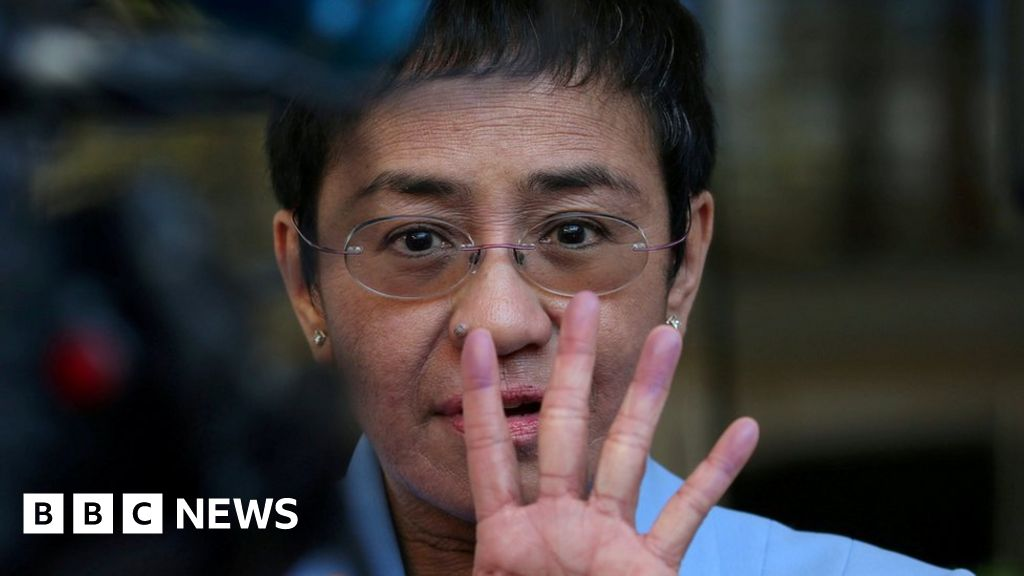 Head of Philippines news site arrested thumbnail
